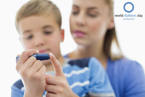 Targets in children with diabetes