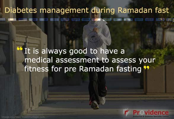 Get medical assessment before Ramadan Fasting